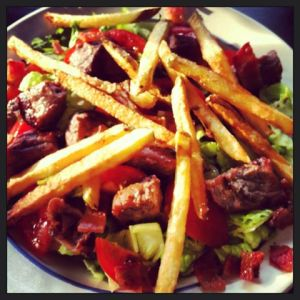 Pittsburgh Steak Salad